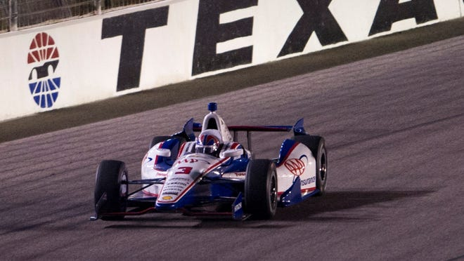 Team Penske was fined $35,000 by IndyCar on Tuesday after Helio Castroneves' No. 3 failed post-race inspection at Texas.