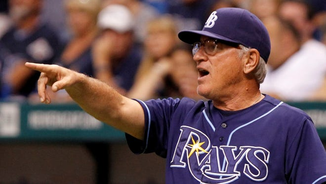 """You have to be crazy to be great,"" Rays manager Joe Maddon says."