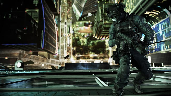 A scene from 'Call of Duty: Ghosts.'