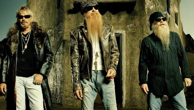 Frank Beard, left, Billy Gibbons and Dusty Hill.