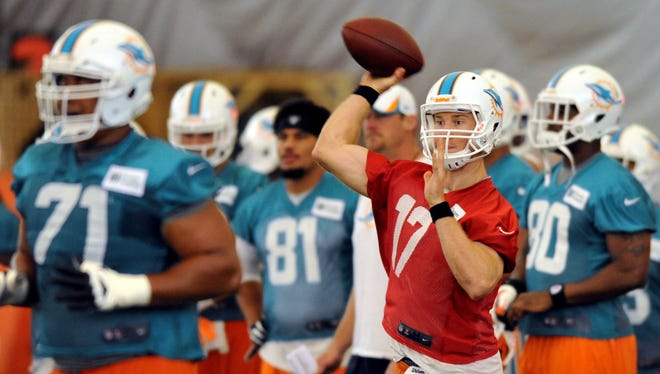 QB Ryan Tannehill and the Dolphins are seeking a breakthrough season in 2013.