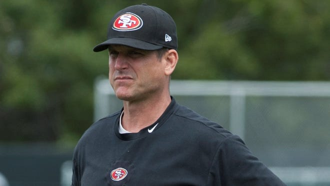 49ers coach Jim Harbaugh is hoping to lead his team to a final championship step in 2013.