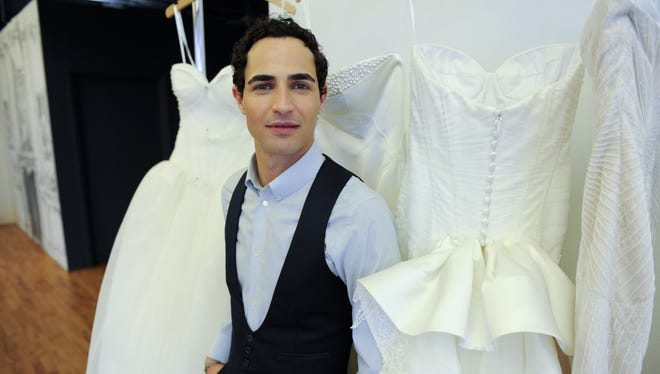 Zac Posen has joined forces with David's Bridal for a new bridal line for the company.