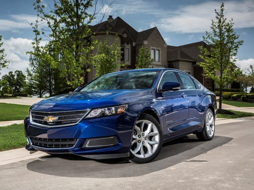 The 2017 Chevrolet Impala On Since April Is A Looker It S The10th