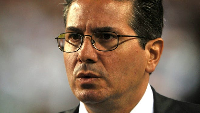 Owner Daniel Snyder of the Washington Redskins says he won't change the team's nickname.