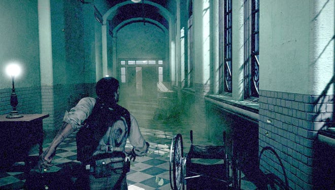 A scene from 'The Evil Within.'
