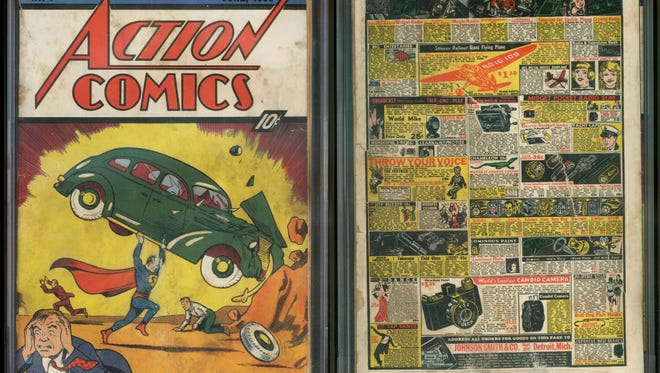A copy of 'Action Comics' No. 1 — featuring the first appearance of Superman — found in the wall of a Minnesota house was sold for $175,000 this week.