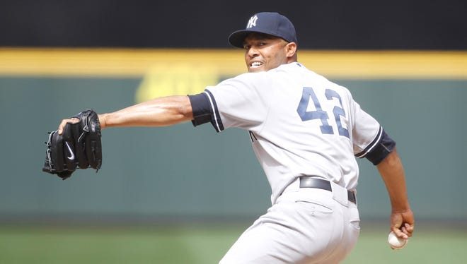 Mariano Rivera is tied for the major league lead with 23 saves (in 24 chances) and sporting a 1.48 ERA.