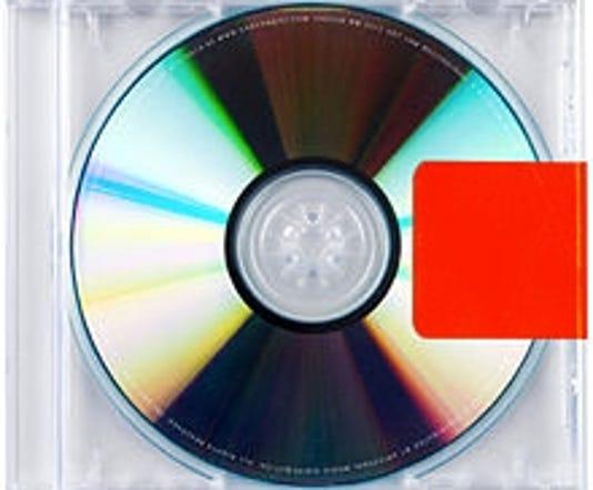 Kanye West Yeezus disc