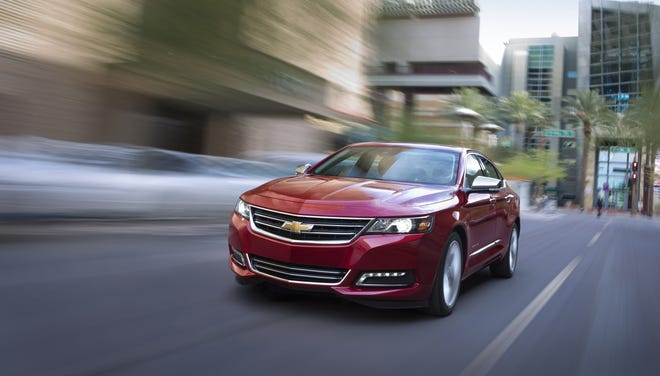 'Consumer Reports' declared Thursday that the 2014 Chevrolet Impala is the best sedan in the land.