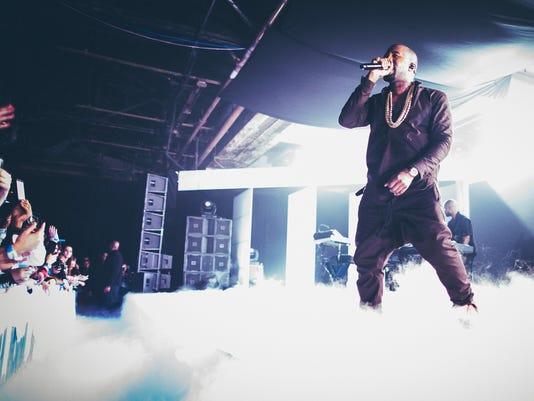 Kanye West's new album leaks