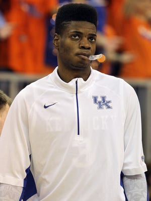 Nerlens Noel's time at Kentucky was cut short by an ACL injury, but he's hoping to be ready early in the 2013-14 NBA season.