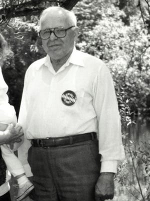 In this May 22, 1990 photo, Michael Karkoc, is photographed in Lauderdale, Minn.