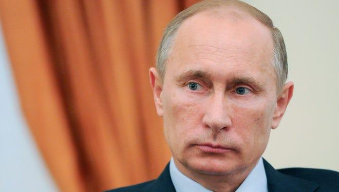 Russia's President Vladimir Putin, shown earlier this year.