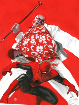 """Spider-Man tussles with the Kingpin yet again in new original graphic novel """"Amazing Spider-Man: Family Business."""""""