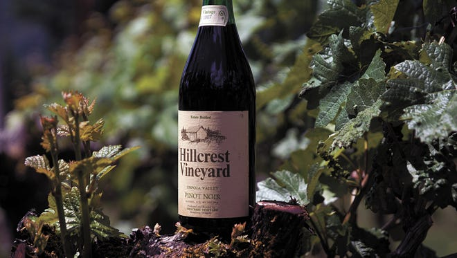 HillCrest Vineyard in Roseburg, Ore., has been recognized for being the first in the state to plant pinot noir grapes. Oregon now has a $3B wine industry, with pinot noir its signature product.