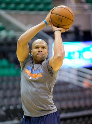 Derek Fisher just completed his 17th year in the NBA, most of the past season with the Oklahoma City Thunder.