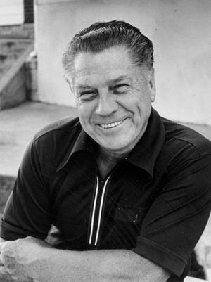 Photo of Jimmy Hoffa taken days before his mysterious disappearance on July 24, 1975.