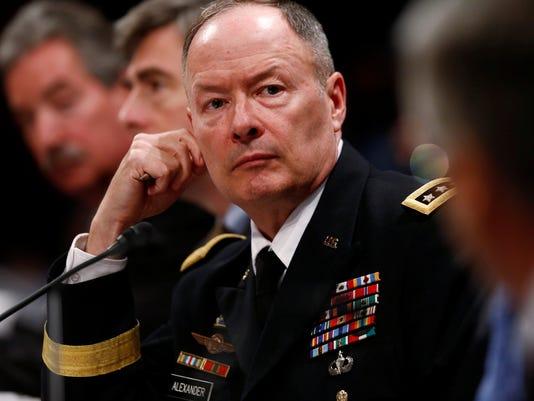 NSA director: Surveillance foiled 50 terror plots