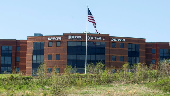 The Pilot Flying J headquarters on April 15, 2013, in Knoxville, Tenn.