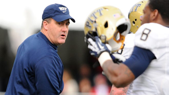 Former Wisconsin offensive coordinator Paul Chryst enters his second season with Pittsburgh.