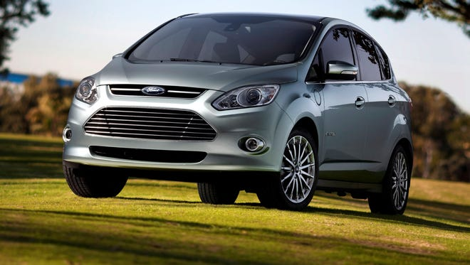 The Ford C-Max  Energi is the plug-in hybrid version