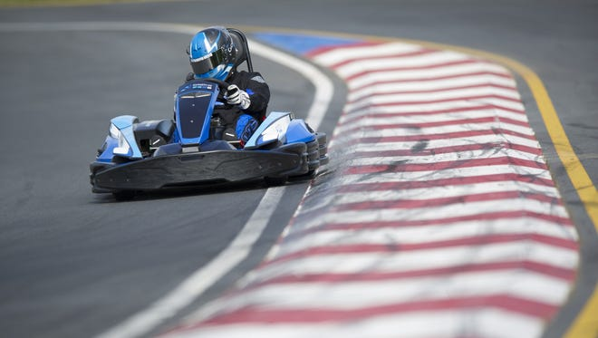 Justin Marks, who owns a go kart track near Charlotte, will make his first Sprint Cup start at Sonoma this weekend.