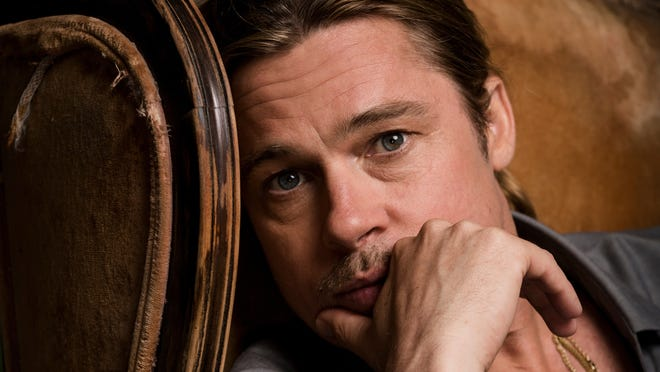 Brad Pitt stars in 'World War Z' in theaters Friday.