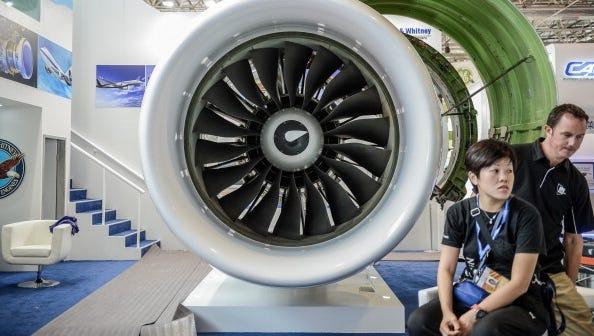 shhh  pratt  u0026 whitney pioneers quieter jet engine