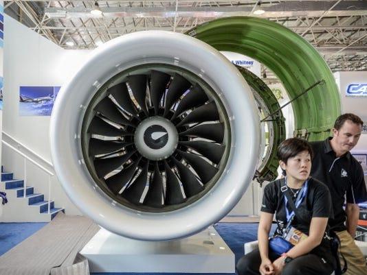 Shhh: Pratt & Whitney pioneers quieter jet engine