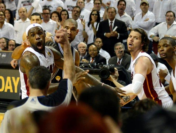LeBron James wins 2013 NBA Finals MVP