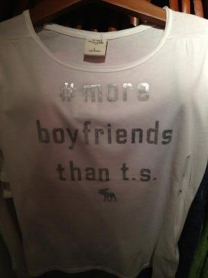 The offending shirt.