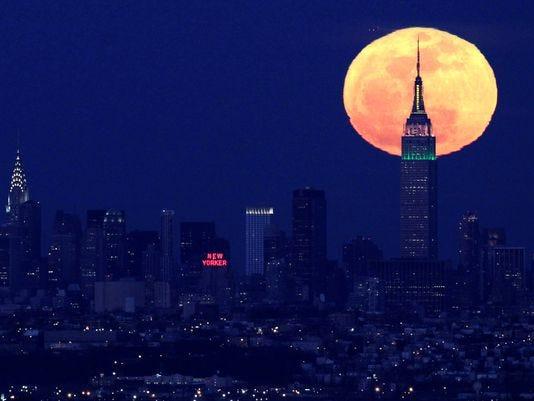 full moon new york