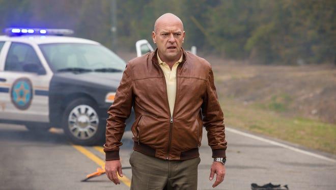 "'Breaking Bad' star Dean Norris plays villain James ""Big Jim"" Rennie on CBS' 'Under the Dome.'"