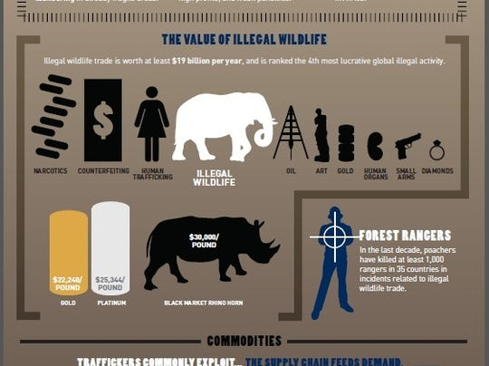 Costs of illegal wildlife trade