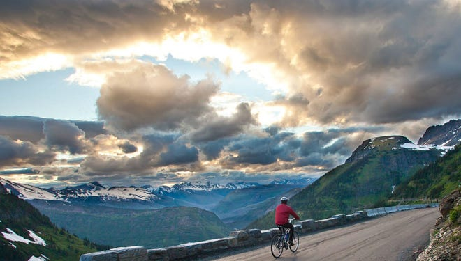 Montana's Glacier National Park, The Going-to-the-Sun Road: Perhaps the most exhilarating and challenging way to see one of the United States' most precious natural gems. At the turning point, stare for miles at jaw-dropping views in all directions.
