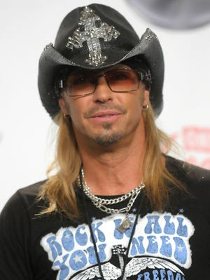 Bret Michaels in 2011. The rocker and his tour bus had a close call on June 21 with a bunch of deer.