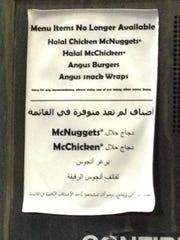 mcdonalds halal lawsuit