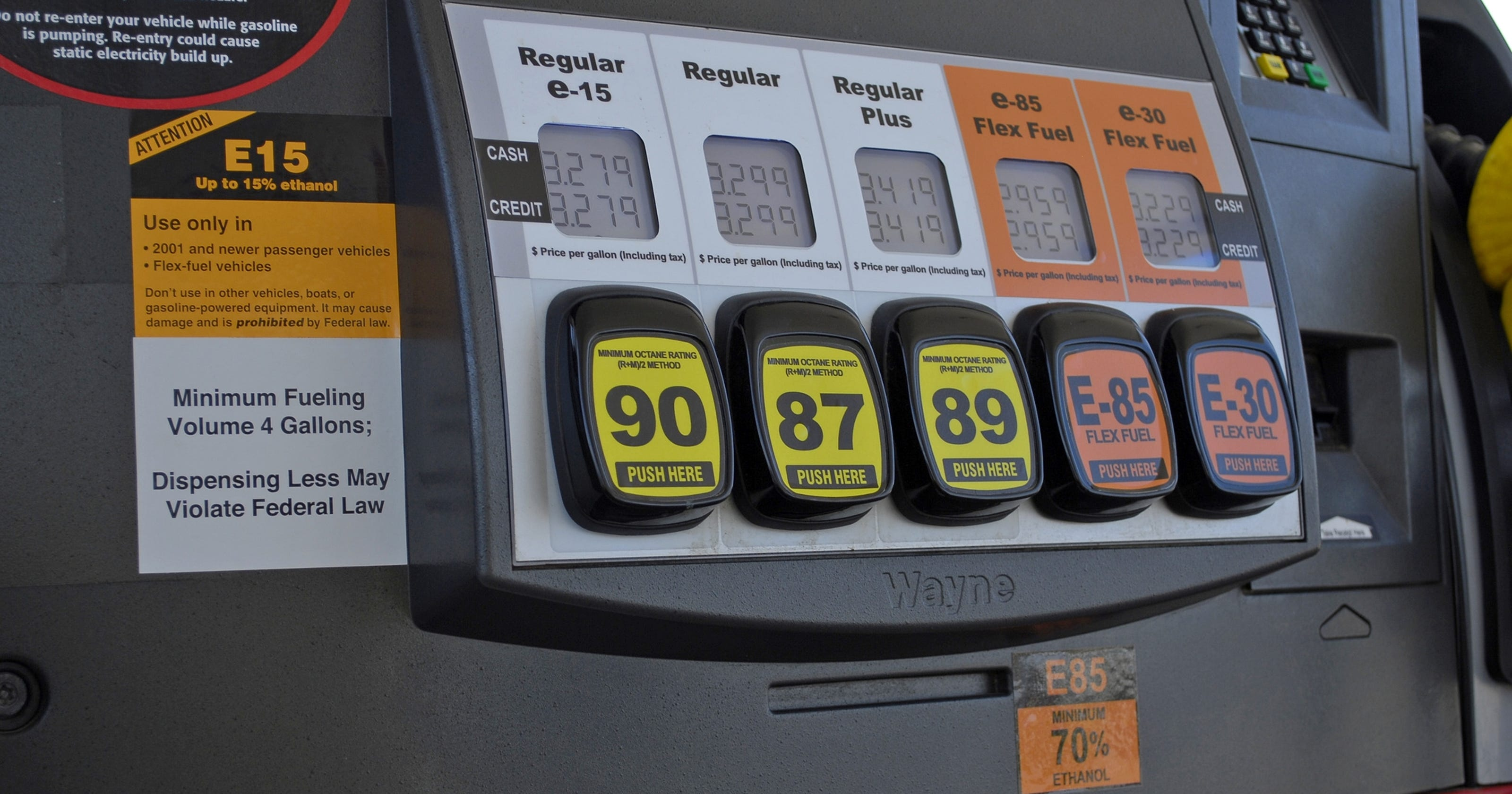 Flex fuel can save on gas money
