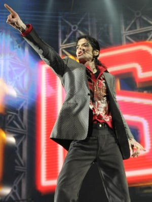 Michael Jackson rehearses for his ill-fated This Is It tour on June 23, 2009.