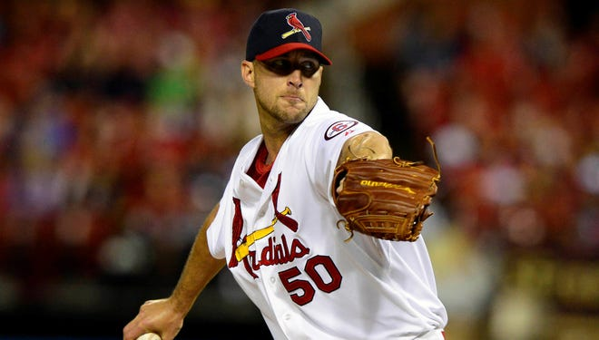 Adam Wainwright allowed one earned run in 6 2/3  innings against the Rangers.