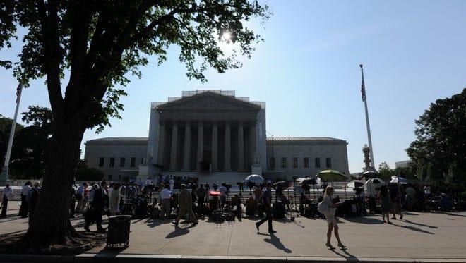 The U.S. Supreme Court on Monday.