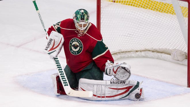 Wild goalie Niklas Backstrom was 24-15-3 with a  2.48 goals-against average and .909 save percentage last season.