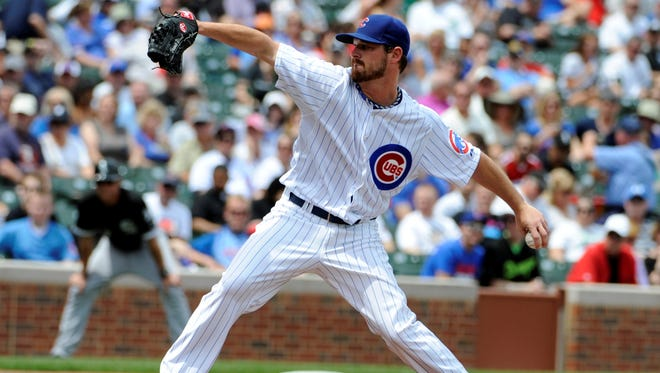 Cubs pitcher Travis Wood has posted five consecutive quality starts, but only has one win to show for it.