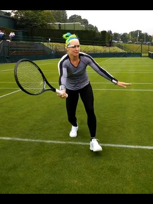 Bethanie Mattek-Sands is among of select people testing out Google Glass. Mattek-Sands has been using the glasses in practice to help her improve.