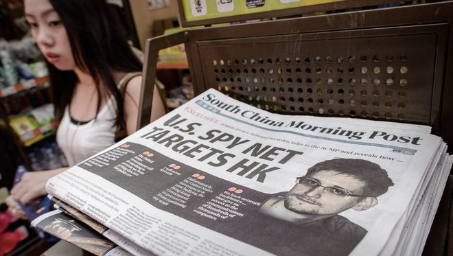 """Leaker Edward Snowden says he took his job with the National Security Agency to obtain evidence on Washington's cyberspying networks, the """"South China Morning Post"""" reports Monday."""