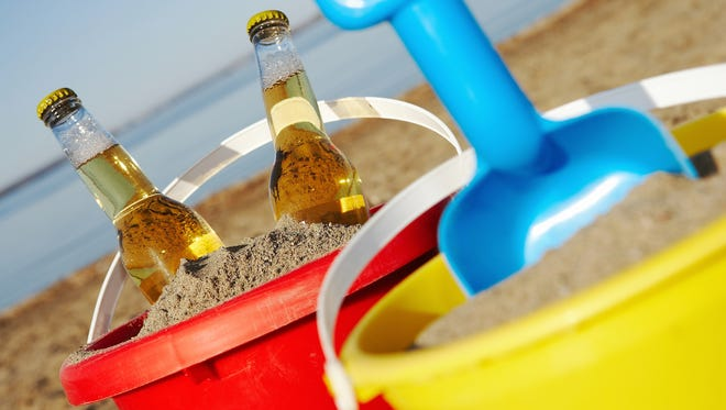 Summery brews, especially wheat beers, pilsners and lighter ales, can cool you off and add to the unplugged vibe. Look for low alcohol content and beer in cans, as a nod to keeping the beach a safe and fun place for everyone.