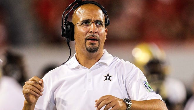 Vanderbilt Commodores head coach James Franklin is excited about the upcoming football season.