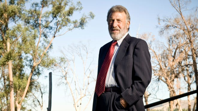 Men's Wearhouse founder George Zimmer in 2008.