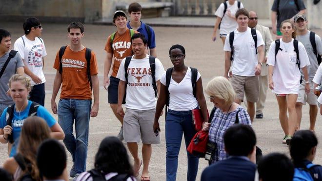 The University of Texas-Austin campus last year.